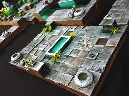 Dungeons And Dragons Tiles Sets by Water Temple Dungeon Tiles For D U0026d Dnd Pathfinder Warhammer
