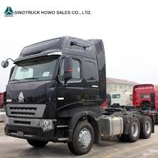 Sino 6X4 420HP Manual Transmission HOWO A7 Tractor Price - China ...