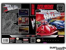Rock 'N Roll Racing SNES Super Nintendo Game Case Box Cover Brand ...
