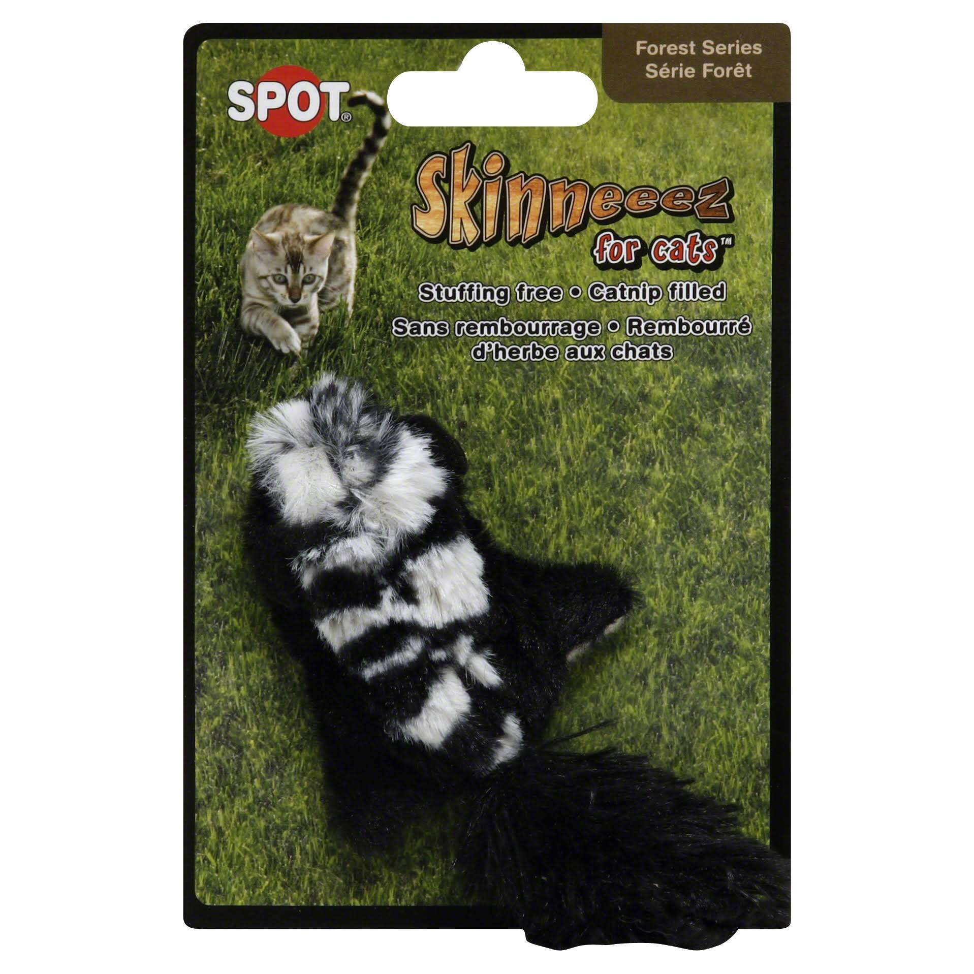 Ethical Pet Skinneeez Forest Creatures Cat Toy