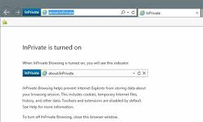 Enable Private Browsing in IE 11 and Microsoft Edge
