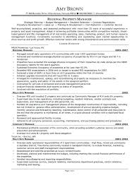 Property Manager Resume Fresh Regional Samples Mercial Of Luxury