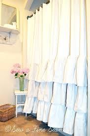 Pink Ruffle Curtains Uk by White Ruffle Curtains U2013 Teawing Co