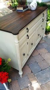 Painted Bassett Dresser a more formal piece of furniture is given