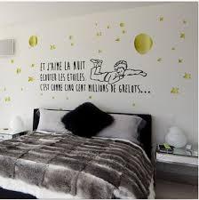 stikers chambre sticker chambre le petit prince ecouter les etoiles decominus
