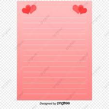 Papelaria Material De Vetor De Amor Uma Carta De Amor