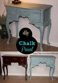 Homemade Chalk Paint iSaveA2Z