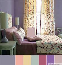 Purple Modern Bedroom Colors