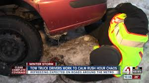Blizzard Creates Flurry Of Calls For Metro Tow Truck Drivers Mom Of Fallen Tow Truck Driver Disheartened To See Another Life Lost 1988 Ford F450 Super Duty Item Dc8428 Sold Ja Lazer Tow Service Kansas City Nation Wide Towing Services Son Of Bobby Steves Founder Honored With Truck Convoy Wcco 022018 Mo Icy Roads Cause Numerous Car Crashes Home Stanleys 2007 National 9125a Boom Ansi Crane For Sale In Ace Auto Company Junction Ks Flatbed Tries Rein Predatory Wreckchasing Trucks