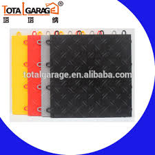 300 300mm standard size used garage pvc interlock floor tiles