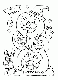 Printable Halloween Books For Preschoolers by Funny Pumpkins Coloring Pages For Kids Halloween Printables Free