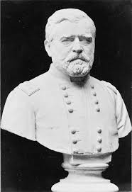 Ulysses S Grant Bust Sculpture Facing Slightly Right