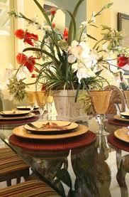 Silk Flower Arrangements For Dining Room Table Floral