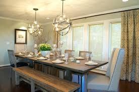 Farmhouse Dining Room Decor Rustic Ideas Extraordinary Contemporary