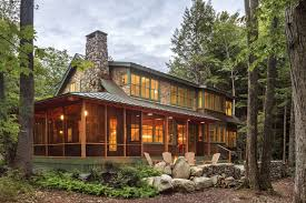 104 Water Front House A Maine Lake Gives Three Generations Both Togetherness And Privacy The Boston Globe