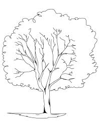 Planting Oak Tree Coloring Page