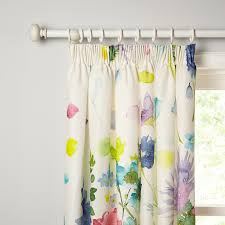 buy bluebellgray tetbury lined pencil pleat curtains john lewis