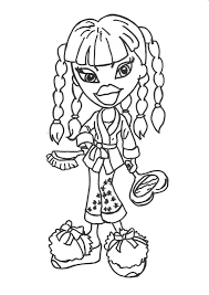 Free Printable Bratz Coloring Pages For Kids To Print