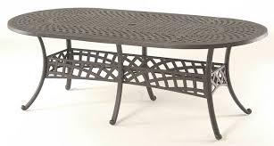 Incredible 84 X 42 Patio Table Berkshire Hanamint Luxury Cast