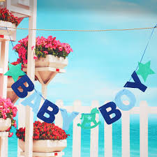 Express Yourself Baby Boy StickOn Card Toppers