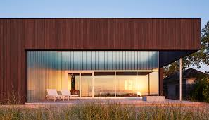 104 Beach Houses Architecture John Ronan Architects Designs A Secluded House On Lake Michigan Metropolis