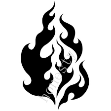 Flame Car Sticker Decorative Element Motorcycle Flame Stickers Car