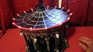 Lemax Halloween Village Ebay by Dept 56 Ghostly Carousel Halloween On Lenyvintageg Youtube