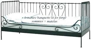 lit canap fer forg banquette lit extensible lit banquette lit banquette lit