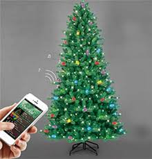7 5 Ft ITwinkle Christmas Tree 75 Multi Color Changing LED Create Light Show