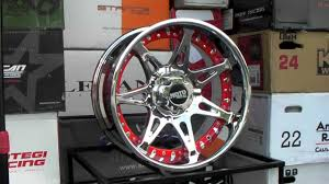 Www.DUBSandTIRES.com Moto Metal Wheels MO961 961 Chrome Red 20 Inch ...