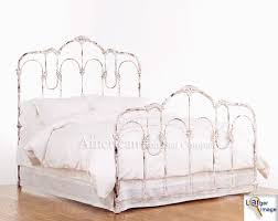 White Wrought Iron King Size Headboards by Impressive White Metal Headboard King 50 King Size Ivy Ivory White