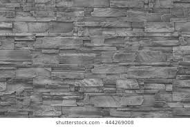 Pieces Of Stone Wall For Background Or Texture Pattern Gray Modern Style Design