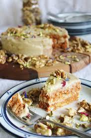 Raw Carrot Cake Vegan Carrot Cake