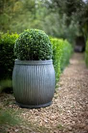 10 Easy Pieces: Zinc Barrel Planters - Gardenista Jenny Castle Design Outdoor Spring Things Creating An Inviting Fall Front Porch Pottery Barn Plant Stunning Planters For Sale On Really Beautiful Usa Home Decor Trwallpatingdiyenroomdecorpotterybarn Startling Blue Diy Cement Craft Diane And Dean My Patio Progress California Casual Hamptons Backyard Style Articles With Tuscan Tag Excellent 1 Brittany Garbage Can Shark Trash Vintage Mccoy Green