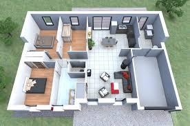 plan maison moderne 3d bricolage maison