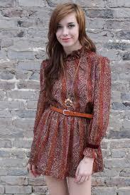 Vintage Mini Dress With Belt