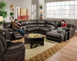 blackjack cocoa reclining sectional transitional sectional