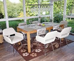 defekte ware loch in armlehne sk 2 esszimmerstuhl hwc a50 stuhl küchenstuhl retro kunstleder weiß