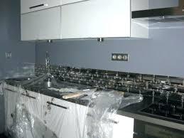 credence verre cuisine mosaique pour credence cuisine stunning stickers blanc cuisine