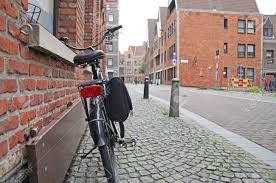 100 Where Is Antwerp Located Streets Of A Bicycle With A Child Seat Is Located Near