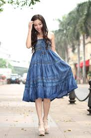 Dress Stylish Trends 2018 Girls Casual Denim Styles Dresses