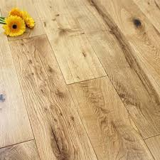 125mm Lacquered Engineered Rustic Oak Wood Flooring 22m2