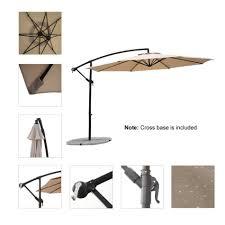 Patio Umbrella Offset 10 Hanging Umbrella by Patio Umbrellas For Sale In Johannesburg Home Outdoor Decoration
