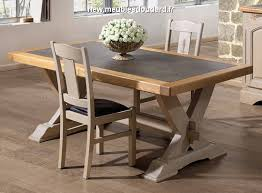 salle à manger en chêne blanchi ardèche
