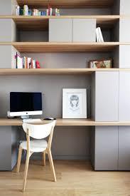 bibliothèque avec bureau intégré intérieur de la maison bibliotheque bureau integre design