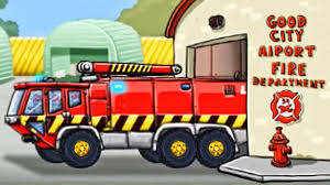 Fire Truck: Airport Rescue | Fire Engine For Children | Fire Truck ...