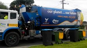 Melbourne Garbage Truck - YouTube