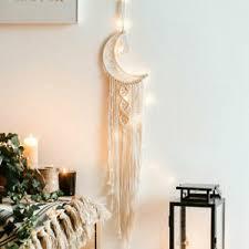 details zu traumfänger makramee wandbehang wandteppich catcher für schlafzimmer deko