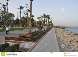 100 Molos The Beautiful Limassol In Cyprus Editorial Stock Image Image