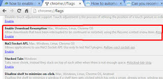 interrupted here s how to resume in chrome